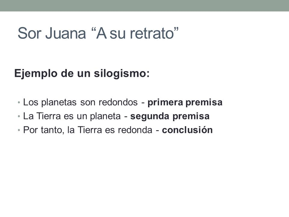 Sor Juana A su retrato