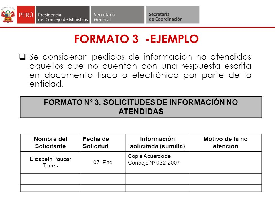 FORMATO 3 -EJEMPLO