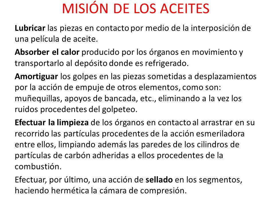 MISIÓN DE LOS ACEITES