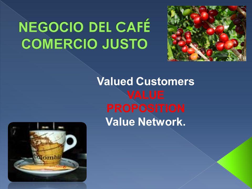 NEGOCIO DEL CAFÉ COMERCIO JUSTO