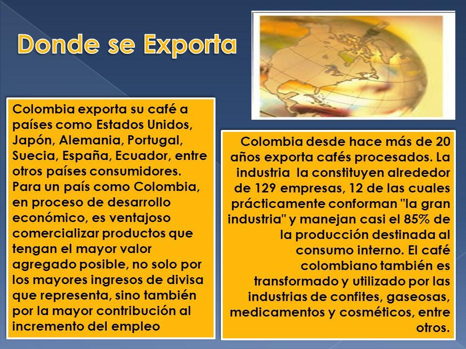Donde se Exporta