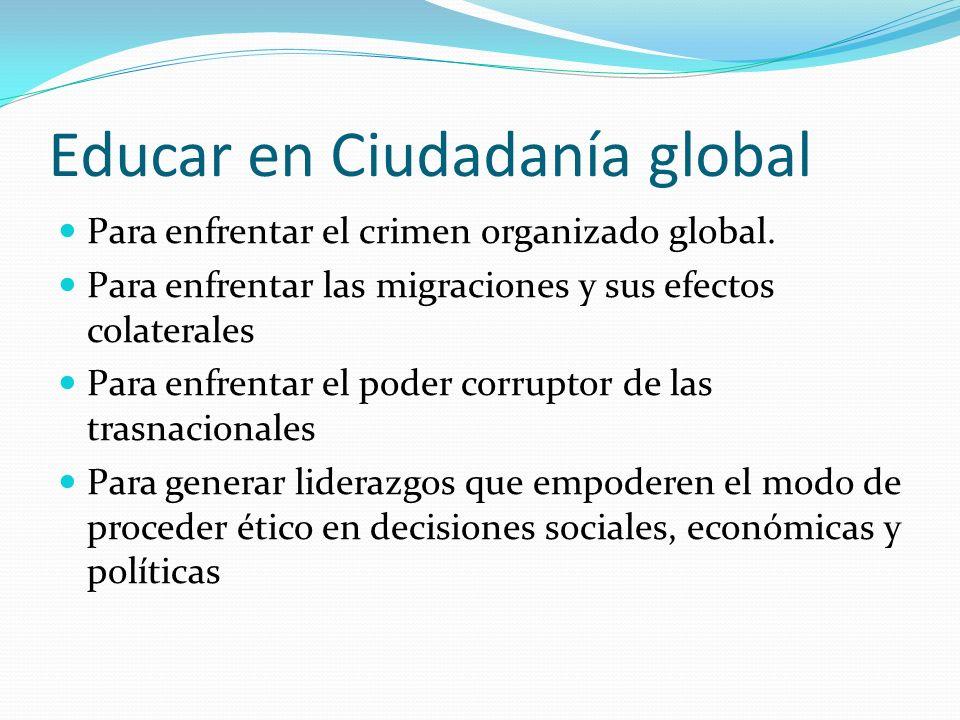 Educar en Ciudadanía global