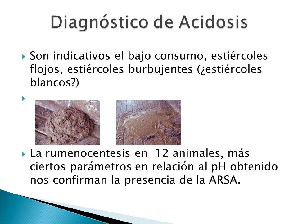 Diagnóstico de Acidosis