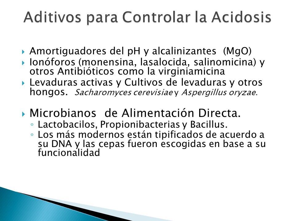 Aditivos para Controlar la Acidosis