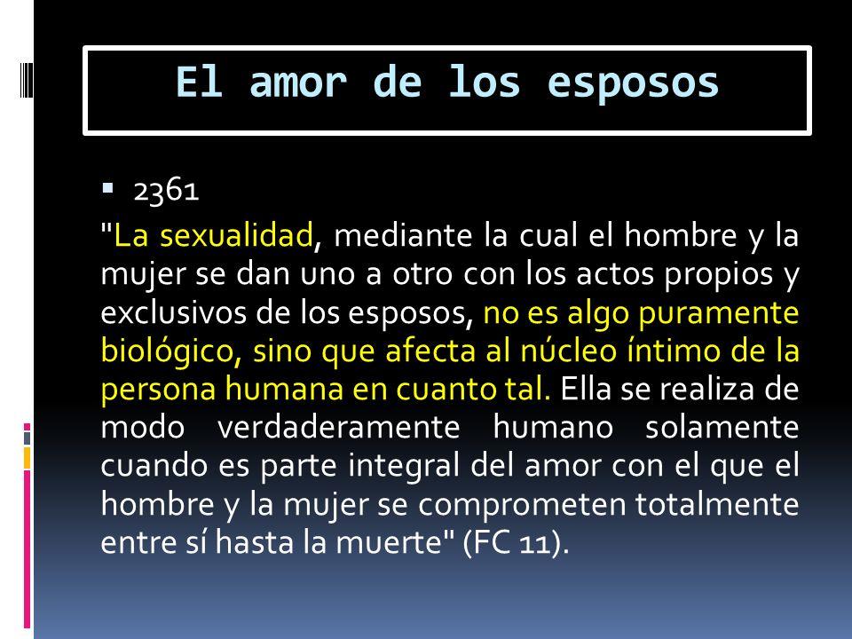 El amor de los esposos 2361.