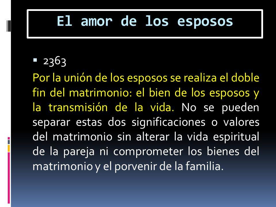 El amor de los esposos 2363.