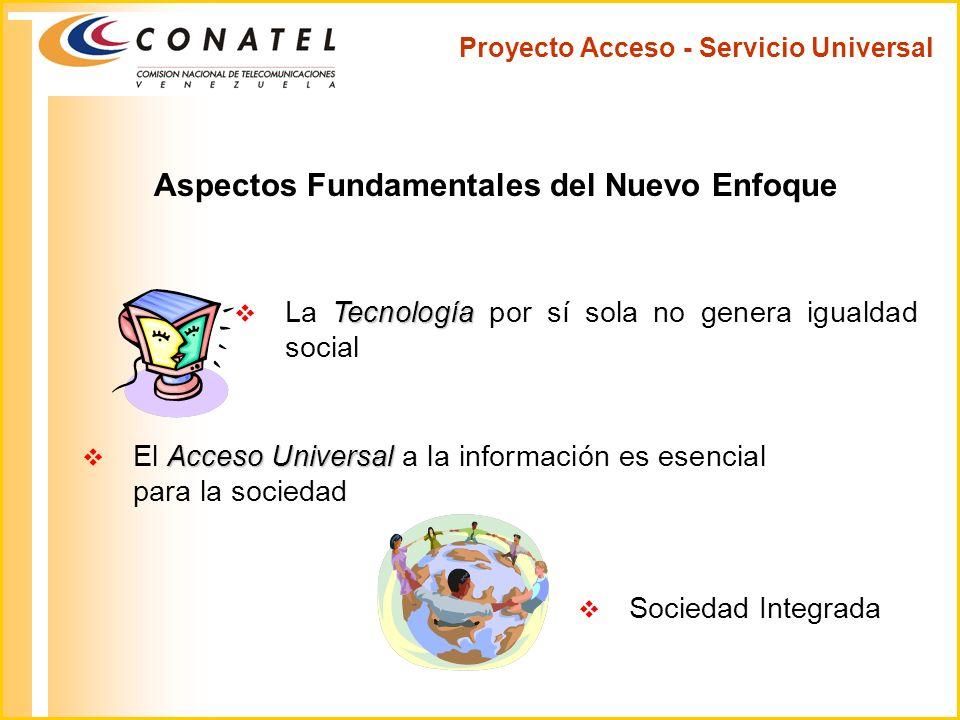 Proyecto Acceso - Servicio Universal