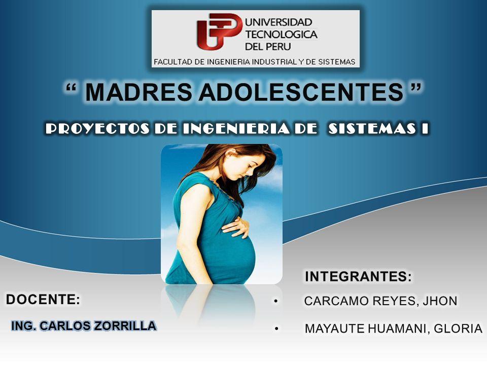 MADRES ADOLESCENTES