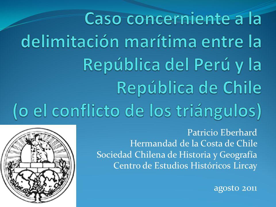 Caso concerniente a la delimitación marítima entre la República del Perú y la República de Chile (o el conflicto de los triángulos)