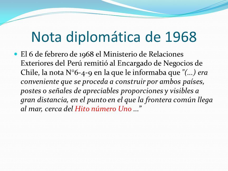Nota diplomática de 1968