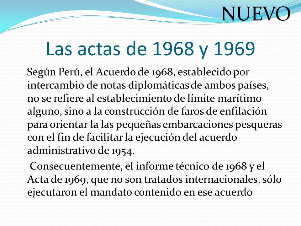 NUEVO Las actas de 1968 y 1969.