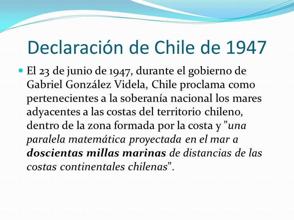 Declaración de Chile de 1947