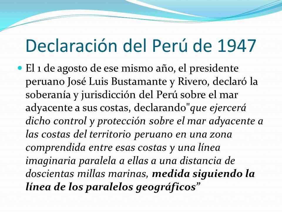 Declaración del Perú de 1947