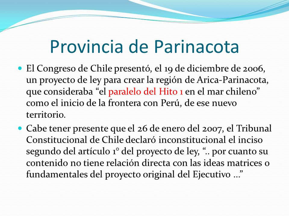 Provincia de Parinacota