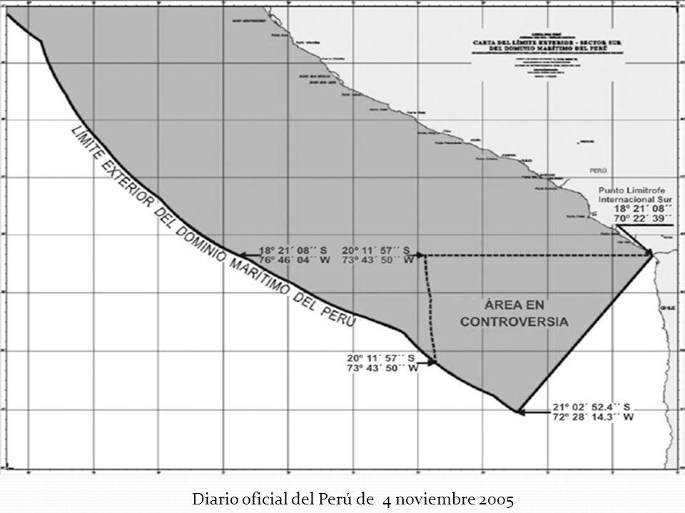 Diario oficial del Perú de 4 noviembre 2005