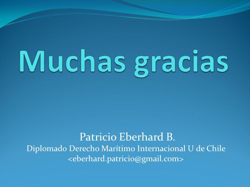 Muchas gracias Patricio Eberhard B.