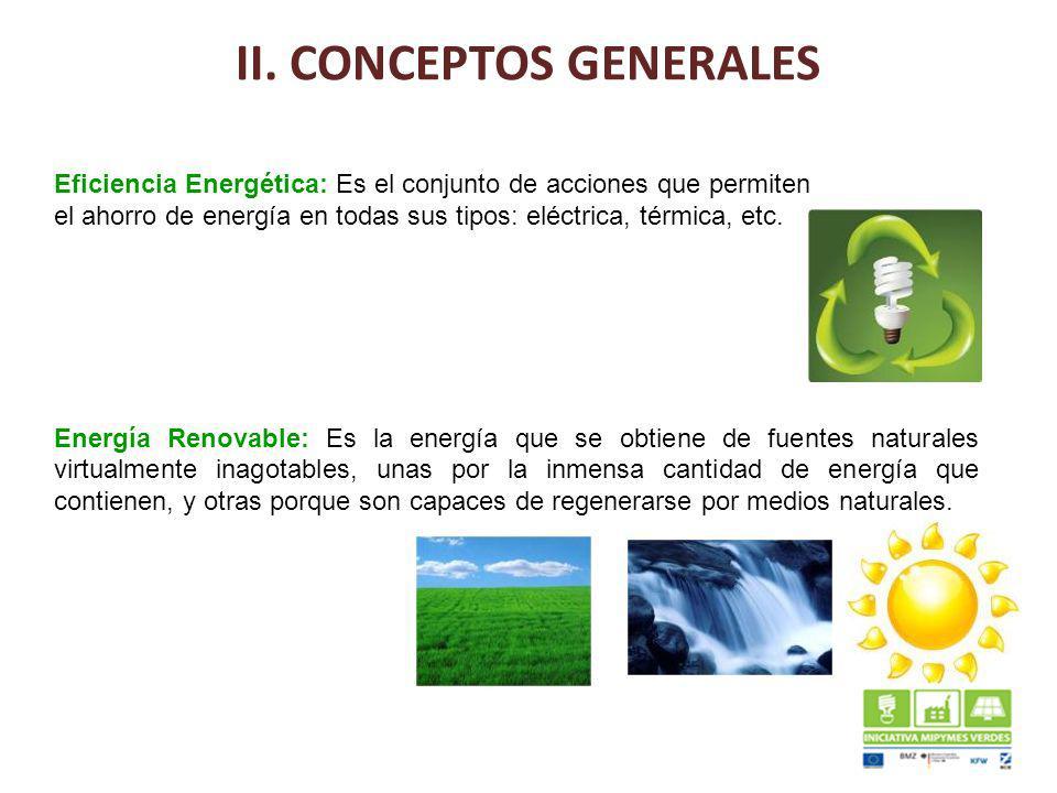 II. CONCEPTOS GENERALES