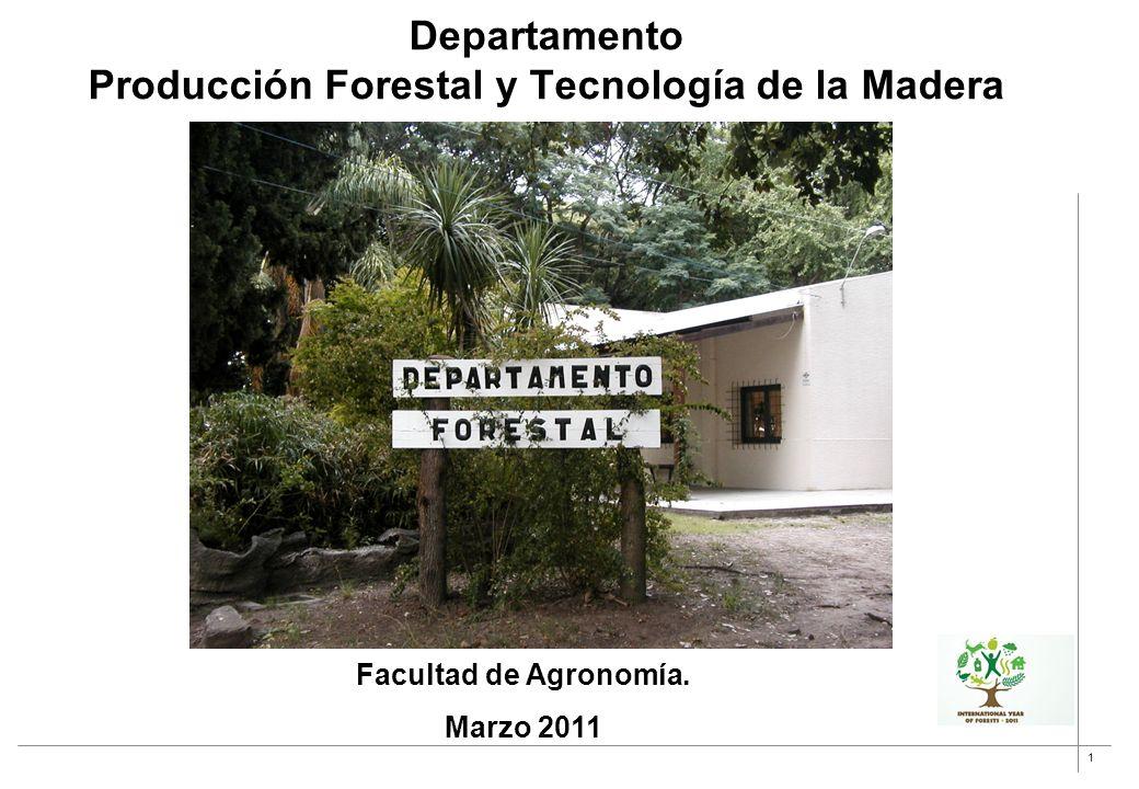 Departamento Producción Forestal y Tecnología de la Madera