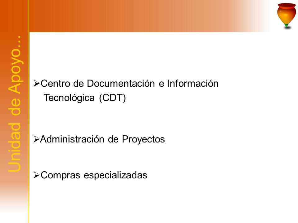 Centro de Documentación e Información Tecnológica (CDT)