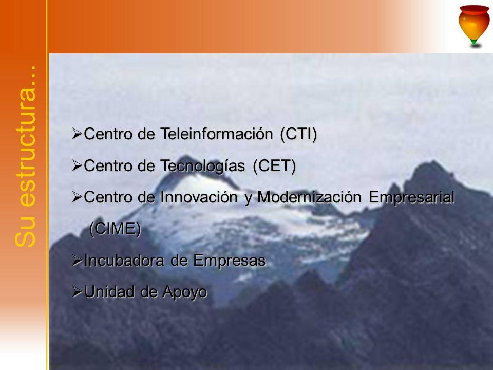 Su estructura... Centro de Teleinformación (CTI)