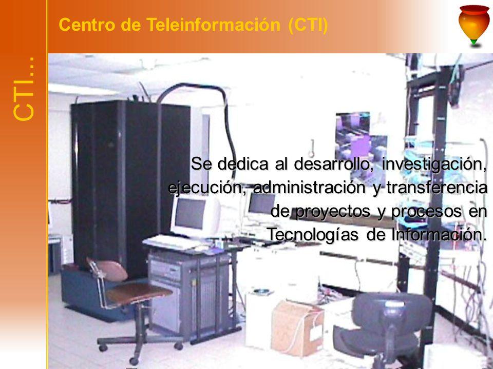 CTI... Centro de Teleinformación (CTI)