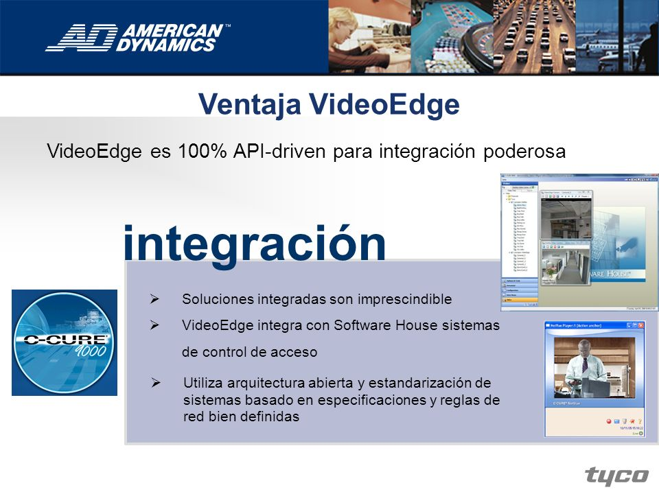 integración Ventaja VideoEdge