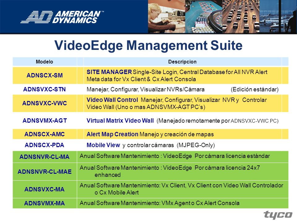 VideoEdge Management Suite