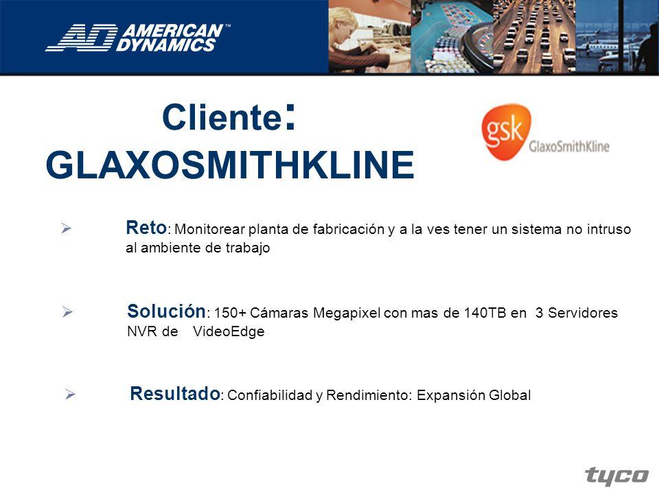 Cliente: GLAXOSMITHKLINE
