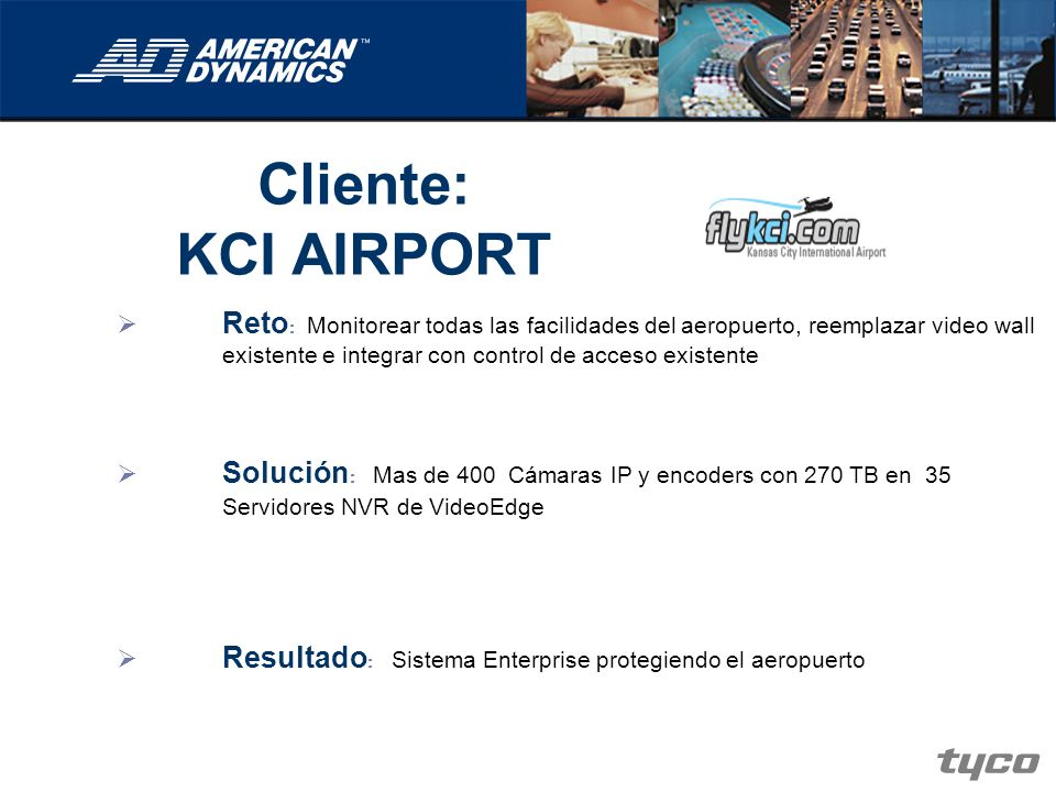 Cliente: KCI AIRPORT.