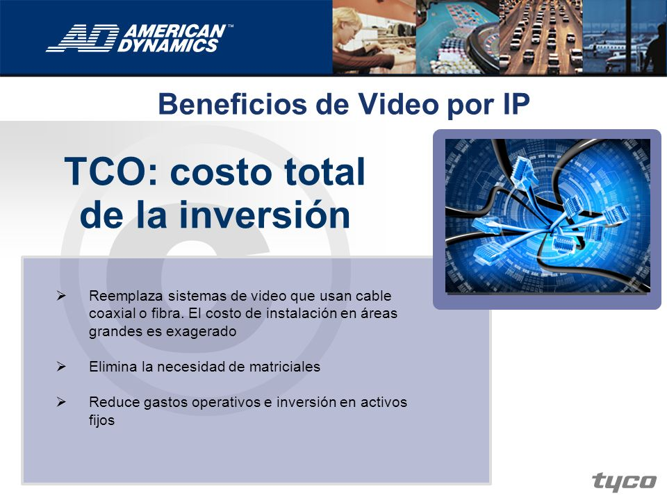 Beneficios de Video por IP