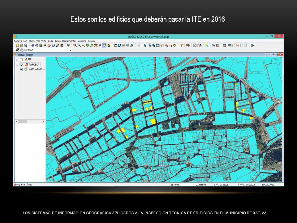 Estos son los edificios que deberán pasar la ITE en 2016