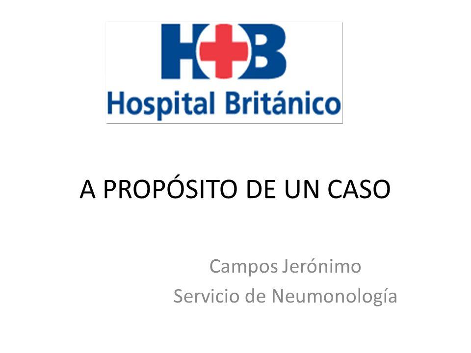 Campos Jerónimo Servicio de Neumonología