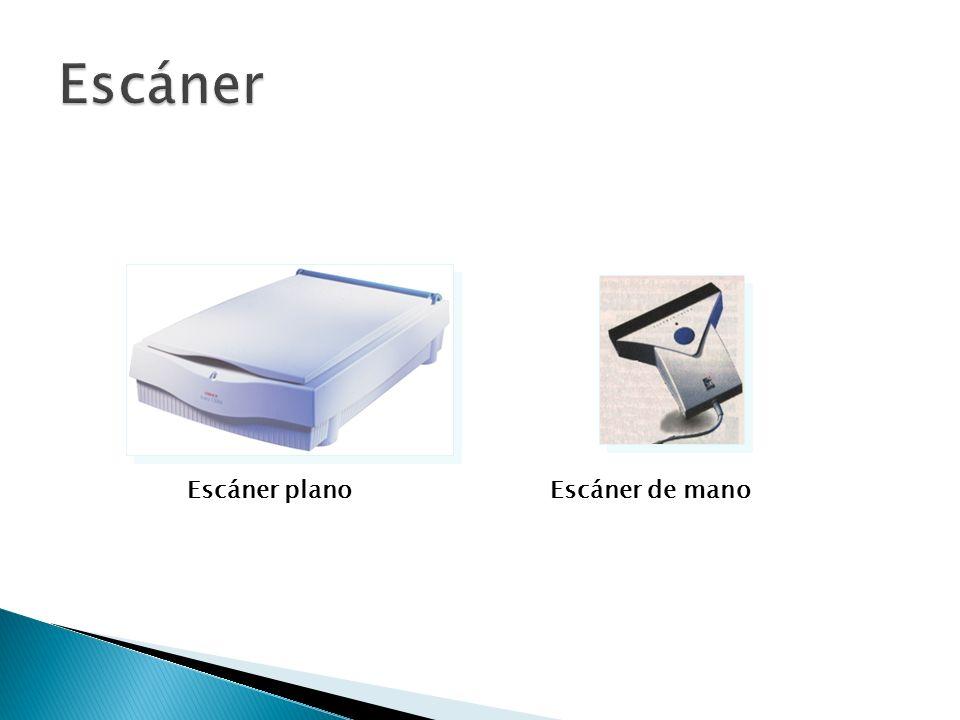 Escáner Escáner plano Escáner de mano