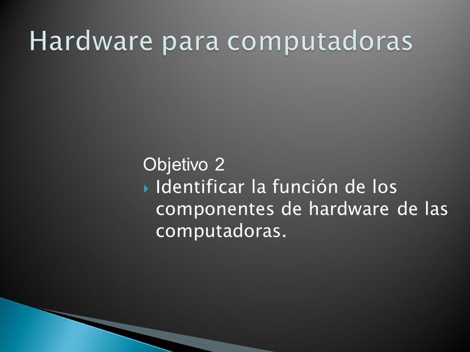 Hardware para computadoras