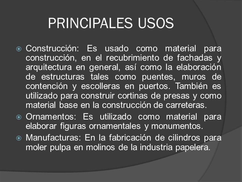 PRINCIPALES USOS