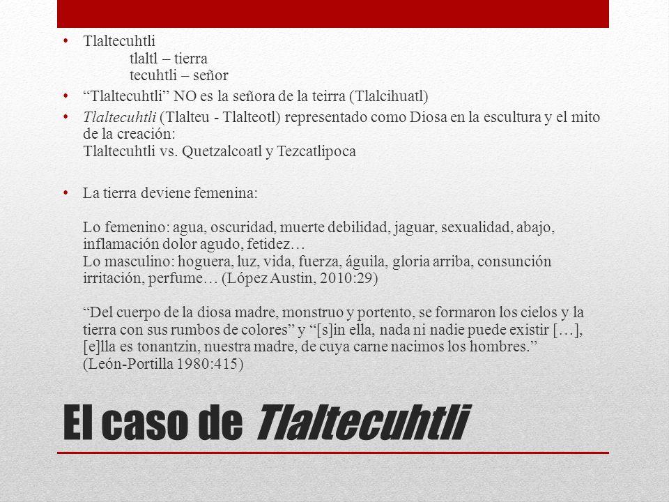 El caso de Tlaltecuhtli