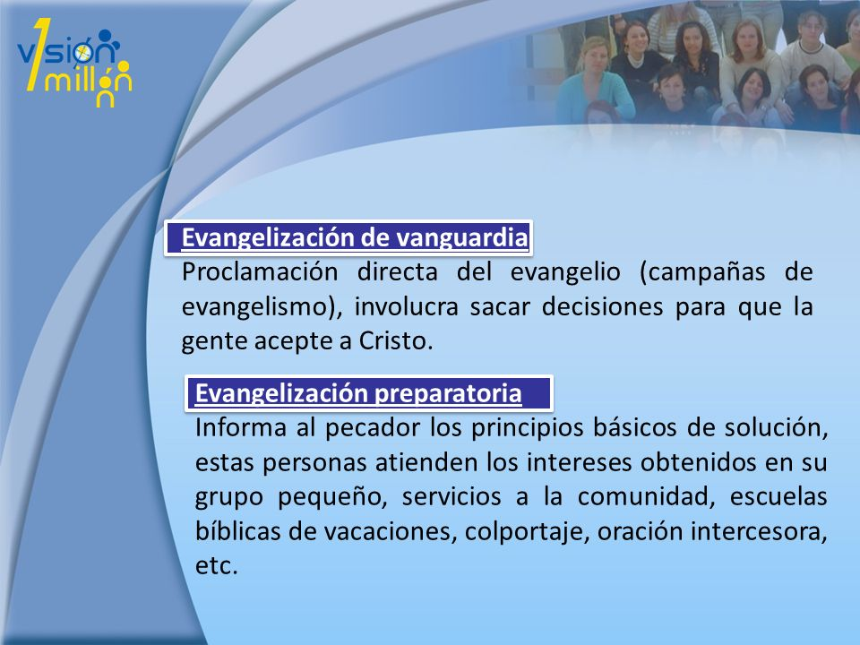 Evangelización de vanguardia