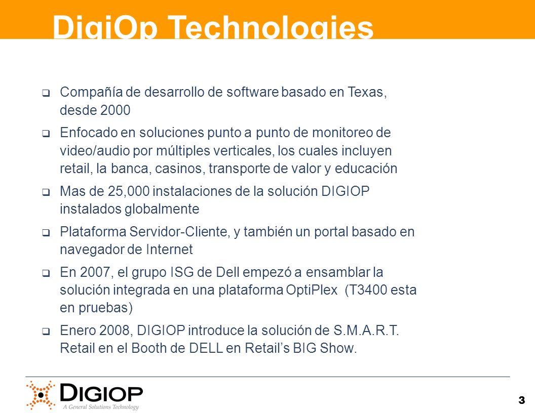 DigiOp Technologies Compañía de desarrollo de software basado en Texas, desde 2000.
