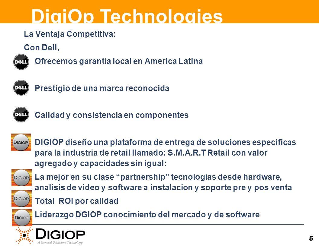 DigiOp Technologies La Ventaja Competitiva: Con Dell,