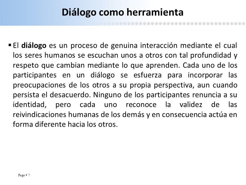 Diálogo como herramienta