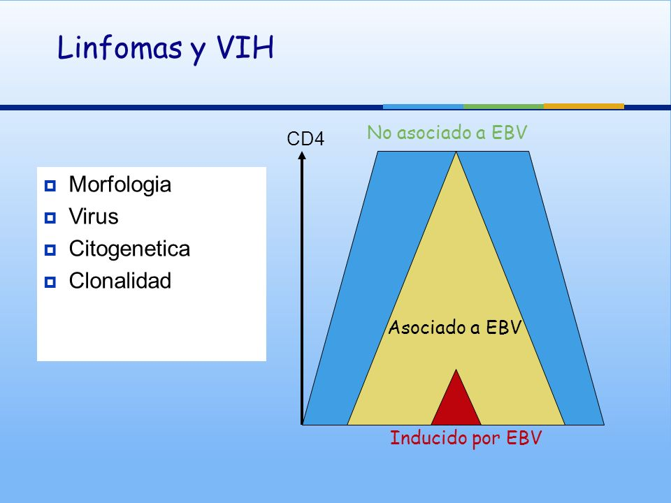 Linfomas y VIH Morfologia Virus Citogenetica Clonalidad