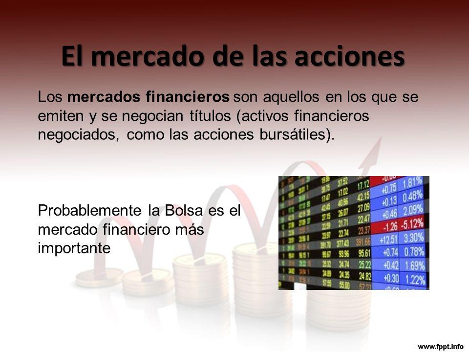 El mercado de las acciones