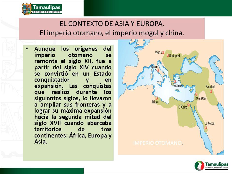 EL CONTEXTO DE ASIA Y EUROPA