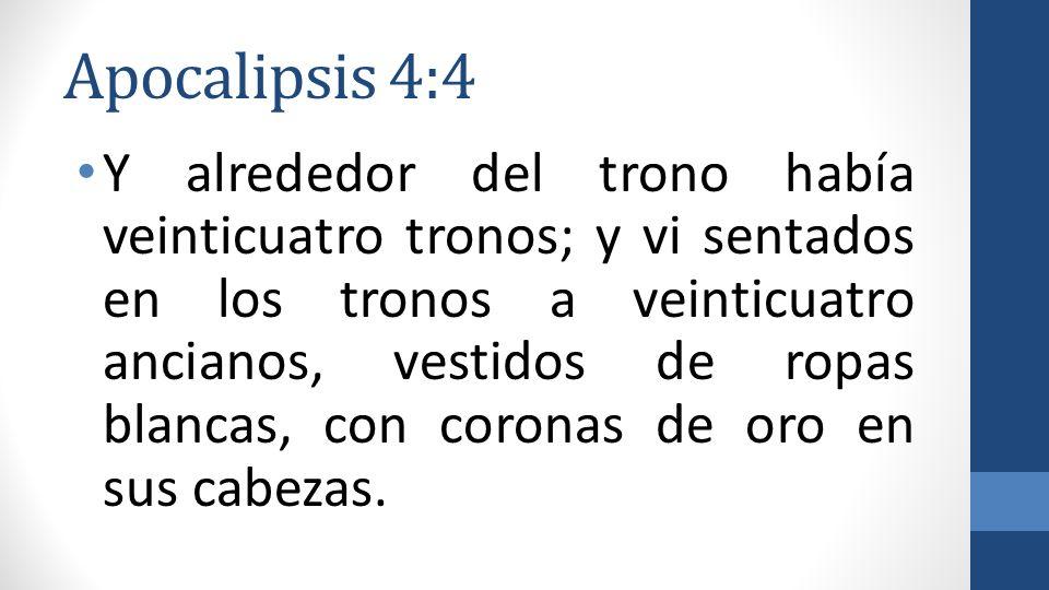Apocalipsis 4:4