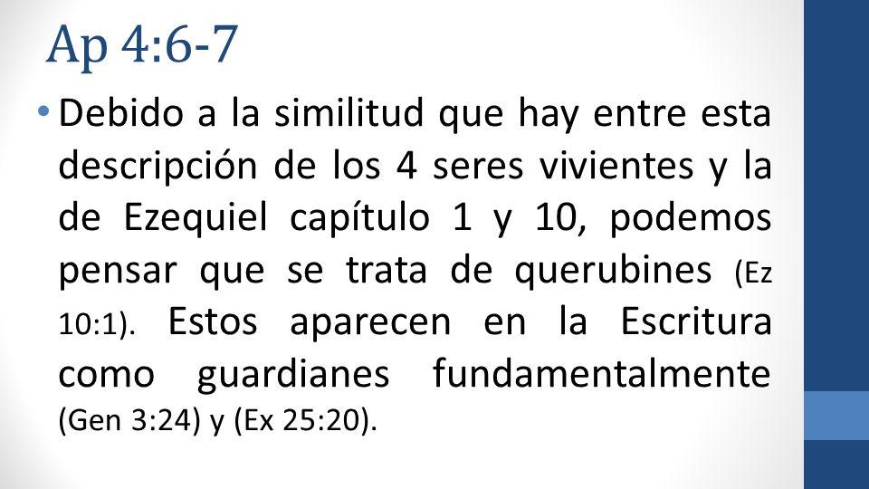 Ap 4:6-7