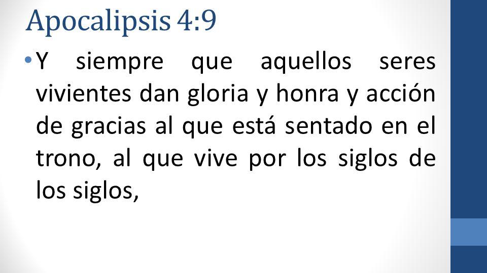 Apocalipsis 4:9
