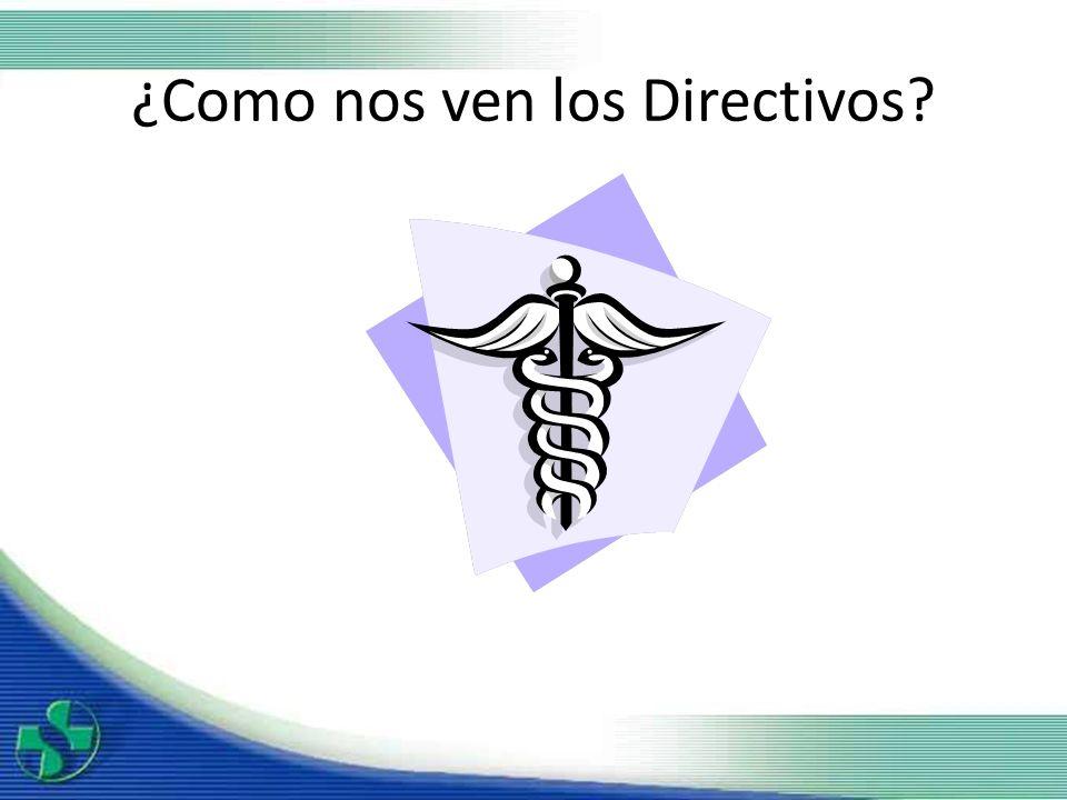 ¿Como nos ven los Directivos