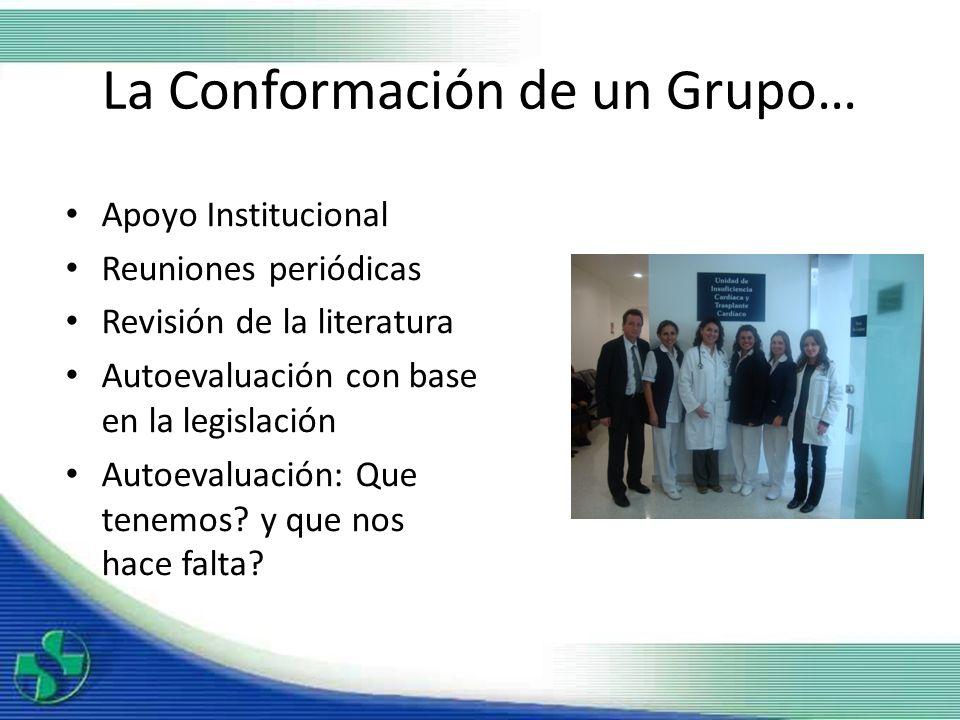La Conformación de un Grupo…