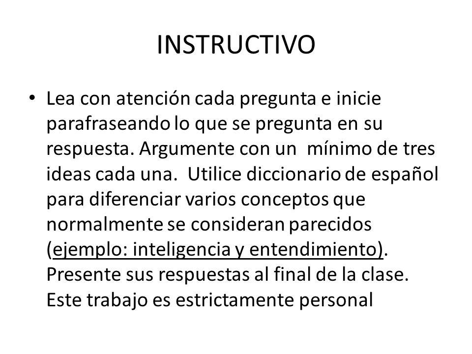 INSTRUCTIVO