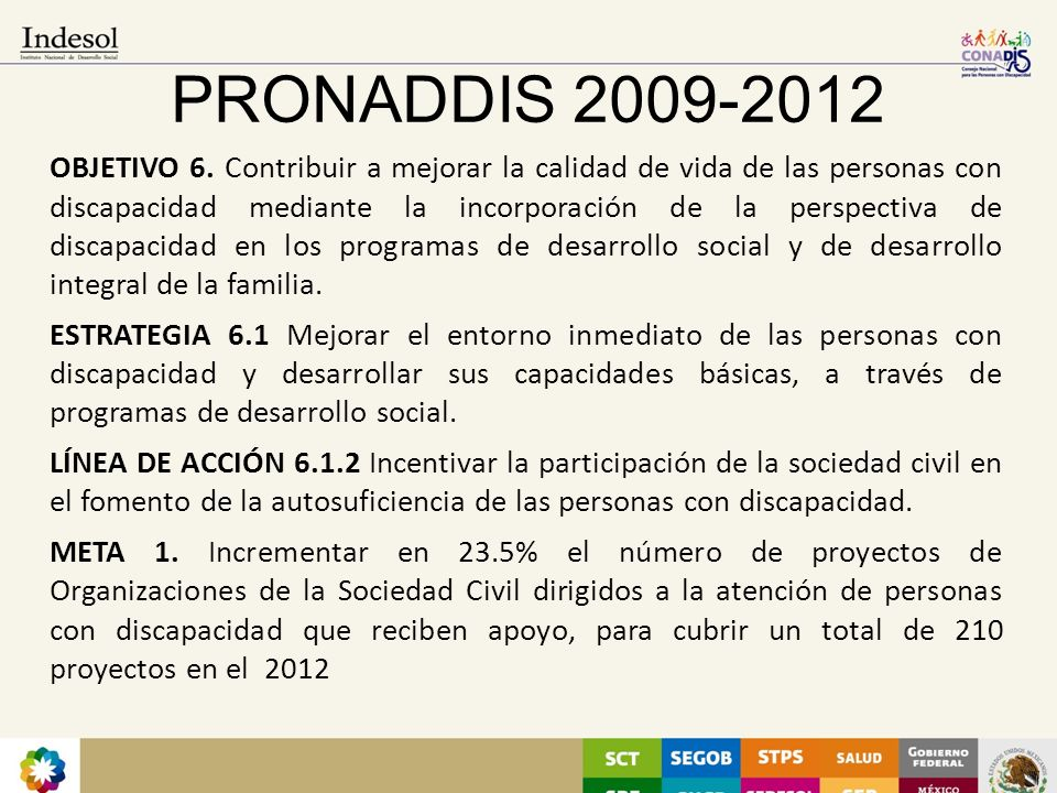PRONADDIS 2009-2012